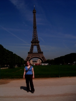 Paris, obviously not Scotland...